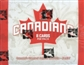 2011 In The Game Canadiana Hobby Box