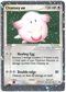 Pokemon Ruby & Sapphire Single Chansey ex 96/109 - SLIGHT PLAY (SP)