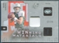 2009 Upper Deck SPx Winning Materials Patch Platinum #WSA Mark Sanchez 13/25
