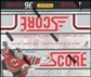 2011/12 Score Hockey 36-Pack Box (18 Rookie Cards & 1 Gold Rush Parallel Per Box)!