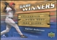 2004 Upper Deck Game Winners Bat #GA Garret Anderson