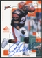 1999 Upper Deck SP Signature Autographs Gold #CD Corey Dillon
