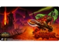 World of Warcraft Fires of the Outland Playmat