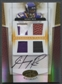 2007 Leaf Certified Materials Sidney Rice Rookie Patch Helmet Auto #15/25