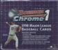 1998 Bowman Chrome Series 1 Baseball 20-Pack Retail Box
