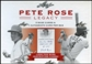 2011 Leaf Pete Rose Legacy Baseball Hobby Box
