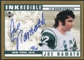 1999 Upper Deck Retro Inkredible Gold Auto #JN Joe Namath 12/12