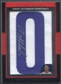 "2007/08 Topps Letterman Basketball Arron Afflalo Rookie Letter ""O"" Patch Auto #07/33"