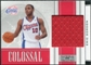 2009/10 Panini Playoff National Treasures Colossal Materials #48 Eric Gordon /99