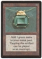 Magic the Gathering Beta Single Mox Emerald - SLIGHT PLAY (SP)