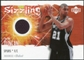 2005/06 Upper Deck Rookie Debut Sizzling Swatches #TD Tim Duncan