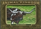 2011 Upper Deck Goodwin Champions Animal Kingdom Patches #AK17 Texas Longhorn LC