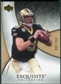 2007 Upper Deck Exquisite Collection #39 Drew Brees /150