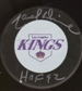 Marcel Dionne Autographed Los Angeles Kings Hockey Puck