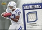 2006 Upper Deck Rookie Debut Star Materials Silver #SMRW Reggie Wayne