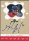 2000/01 Upper Deck MVP ProSign #MR Mike Ribeiro