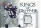 2006 Fleer Ultra Kings of Defense Jerseys #KDRW Roy Williams