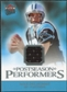 2006 Fleer Ultra Postseason Performers Jerseys #UPPJD Jake Delhomme