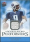 2006 Fleer Ultra Postseason Performers Jerseys #UPPSM Steve McNair