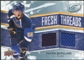 2008/09 Upper Deck Ice Fresh Threads #FTPB Patrik Berglund