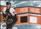 2008/09 Upper Deck Ice Fresh Threads #FTSB Luca Sbisa