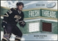 2008/09 Upper Deck Ice Fresh Threads Parallel #FTFI Mark Fistric /100