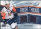 2008/09 Upper Deck Ice Fresh Threads Parallel #FTKO Kyle Okposo /100