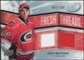 2008/09 Upper Deck Ice Fresh Threads Parallel #FTZB Zach Boychuk /100