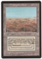 Magic the Gathering Beta Single Scrubland - NEAR MINT (NM)