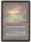 Magic the Gathering Beta Single Underground Sea - SLIGHT PLAY (SP)