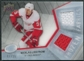 2008/09 Upper Deck Ice Frozen Fabrics Black Parallel #FFNL Nicklas Lidstrom 7/25