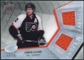 2008/09 Upper Deck Ice Frozen Fabrics Black Parallel #FFSG Simon Gagne /25