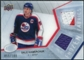 2008/09 Upper Deck Ice Frozen Fabrics Parallel #FFHW Dale Hawerchuk /100