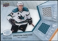 2008/09 Upper Deck Ice Frozen Fabrics Parallel #FFJC Jonathan Cheechoo /100