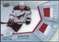 2008/09 Upper Deck Ice Frozen Fabrics Parallel #FFSD Shane Doan /100