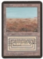 Magic the Gathering Alpha Single Scrubland LIGHT PLAY (NM)