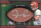 2007 Upper Deck Sweet Spot Pigskin Signatures Green #RO Jeff Rowe /75