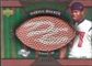 2007 Upper Deck Sweet Spot Pigskin Signatures Green #DW Darius Walker /99