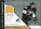 2007/08 Upper Deck SP Game Used Authentic Fabrics #AFGR Gary Roberts