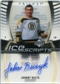 2006/07 Upper Deck Trilogy Ice Scripts #ISJB Johnny Bucyk Autograph