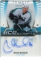 2006/07 Upper Deck Trilogy Ice Scripts #ISMM Milan Michalek Autograph