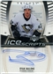 2006/07 Upper Deck Trilogy Ice Scripts #ISRM Ryan Malone Autograph