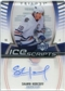 2006/07 Upper Deck Trilogy Ice Scripts #ISSH Shawn Horcoff Autograph