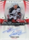 2006/07 Upper Deck Trilogy Ice Scripts #ISTV Thomas Vanek Autograph