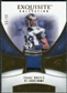 2007 Upper Deck Exquisite Collection Patch Gold #IB Isaac Bruce /50