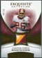 2007 Upper Deck Exquisite Collection Patch Gold #PO Clinton Portis 49/50