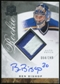 2008/09 Upper Deck The Cup #137 Ben Bishop Rookie Patch Auto 64/249