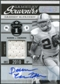 2011 Panini Timeless Treasures Game Day Souvenirs 1st Quarter Autographs #22 Darren McFadden Autograph /5