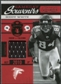 2011 Timeless Treasures Game Day Souvenirs 4th Quarter #8 Roddy White /115