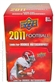 2011 Upper Deck Football Retail 48-Pack Box - KAEPERNICK AND NEWTON ROOKIES!